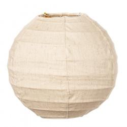 Lampion tissu boule japonaise mini Lin