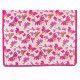 Tapis décoration intérieure coton papillons roses