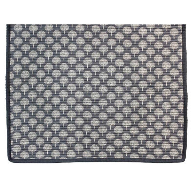 Tapis coton Grey tree