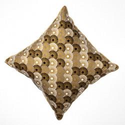 Coussin carré Solas gold