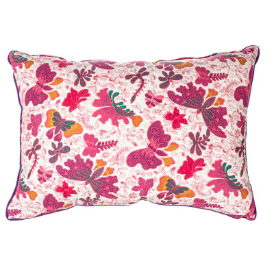 Grand coussin rectangle Papillons