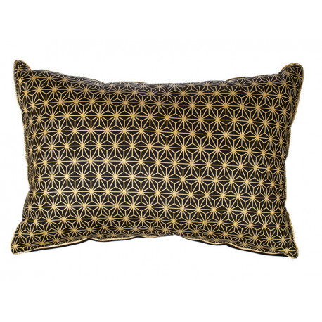 Grand coussin rectangle Solas black