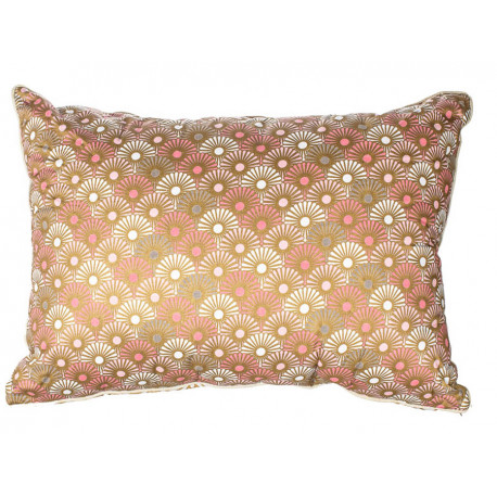Grand coussin rectangle Solas gold