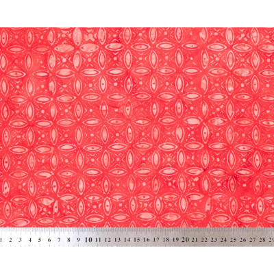 Tissu coton batik rouge