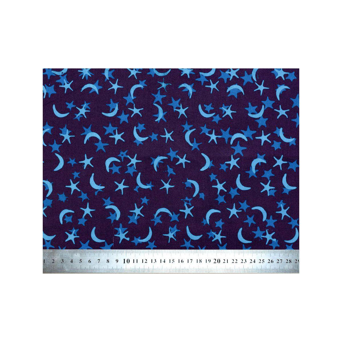 Tissu coton Galaxie