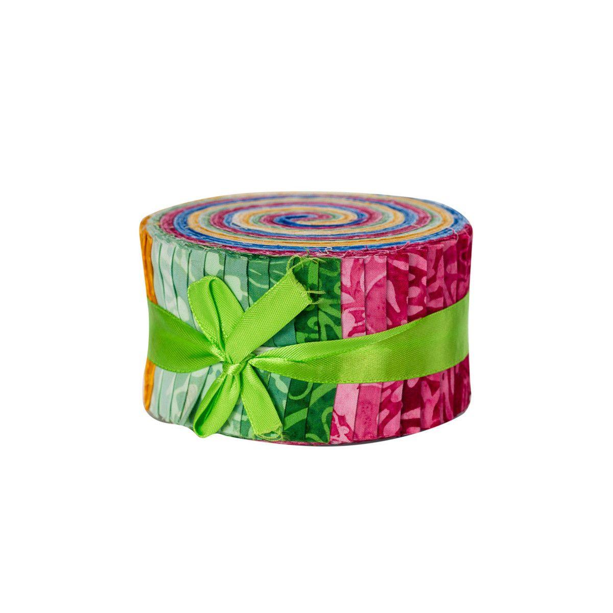 Jelly roll Bali roll batik multicolore