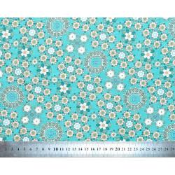Tissu coton Milkyway blue