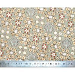 Tissu coton Milkyway grey