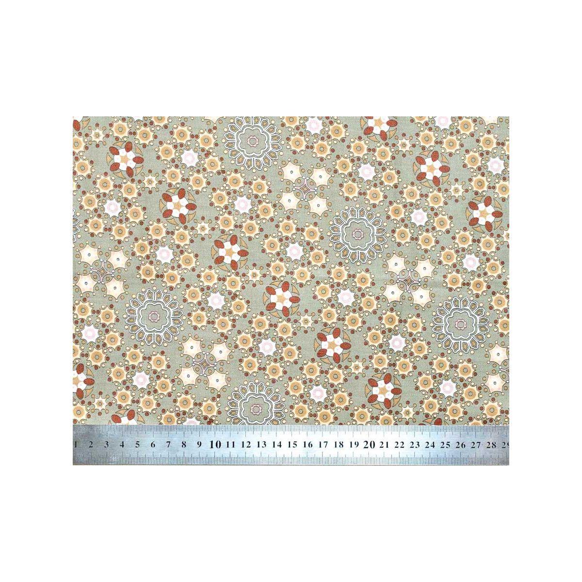 Tissu coton Milkyway gris