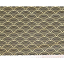 Tissu coton Nami Gold