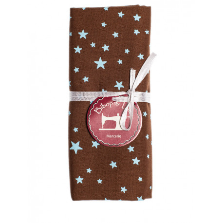 Coupon tissu Blue Star