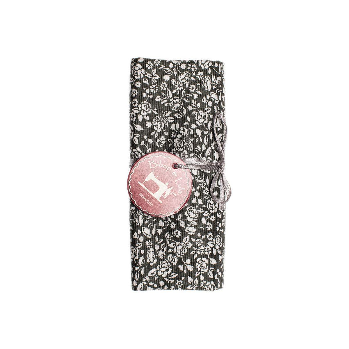 Coupon tissu Fleurettes