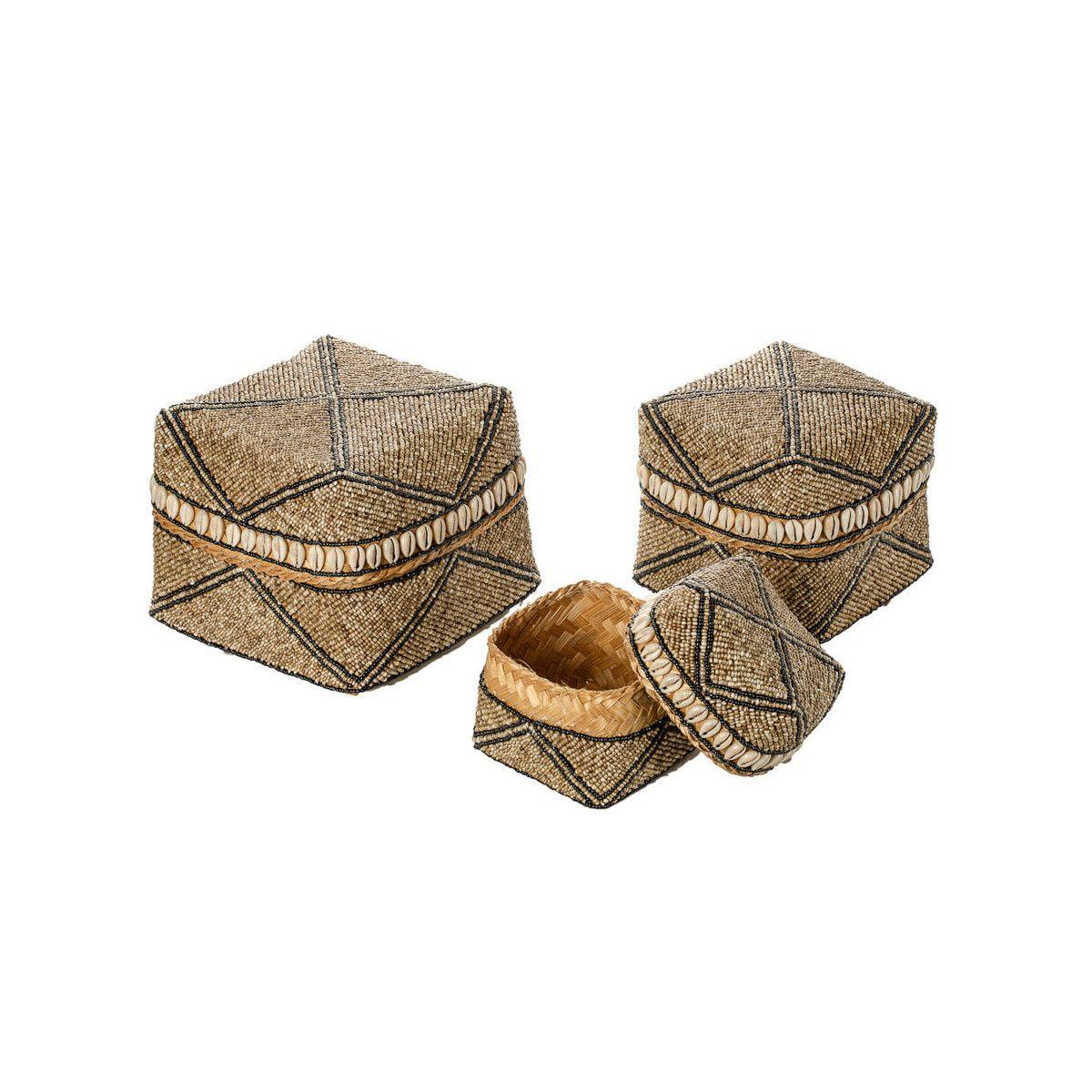 Boites à offrande perles Seraya