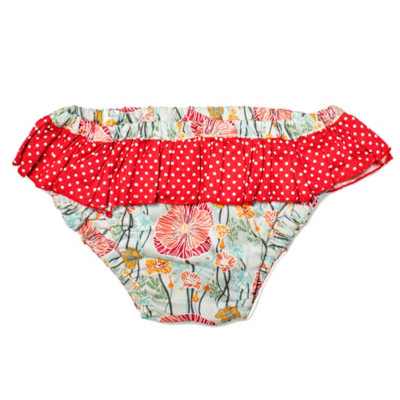 Culotte de bain Blue Poppies