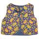 Gilet réversible bébé 0-3 ans bleu jaune et violet