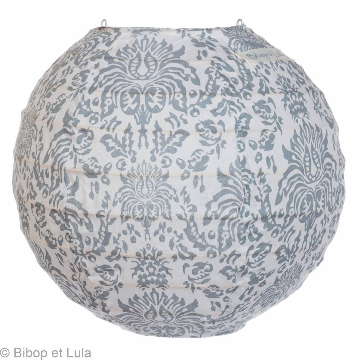 Mini lampion tissu Baroque