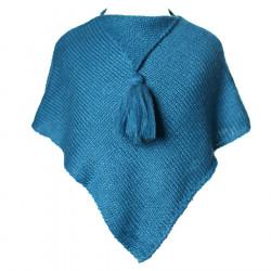 Poncho laine bébé Canard
