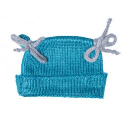 Bonnet bébé laine Canard