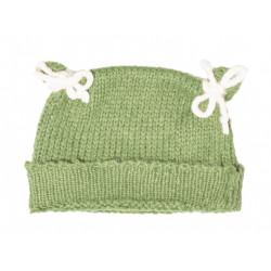 Bonnet bébé laine Jade