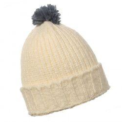 Bonnet laine Crème