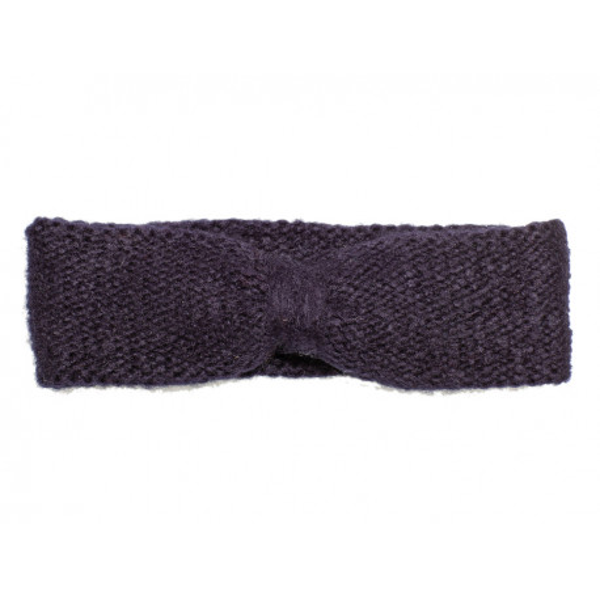 Bandeau headband sixties laine gris ardoise