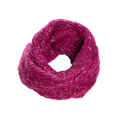 Snood laine enfant Framboise