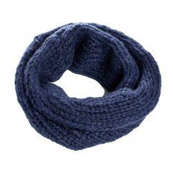Snood laine enfant Lapis-lazuli