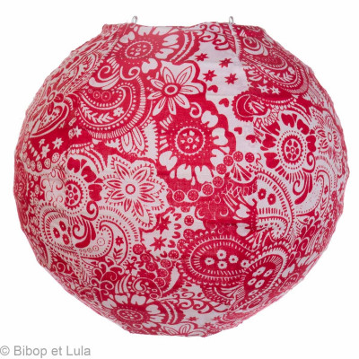 Mini lampion Summer red