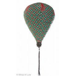 Lampion tissu montgolfière Maasai