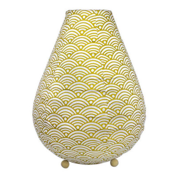 Lampion chevet tissu Nami gold
