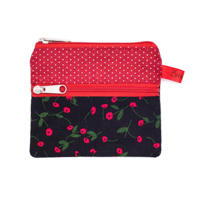 Petit porte-monnaie deux compartiments Strawberry