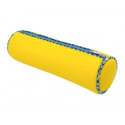 trousse ronde école enfant jaune et bleu