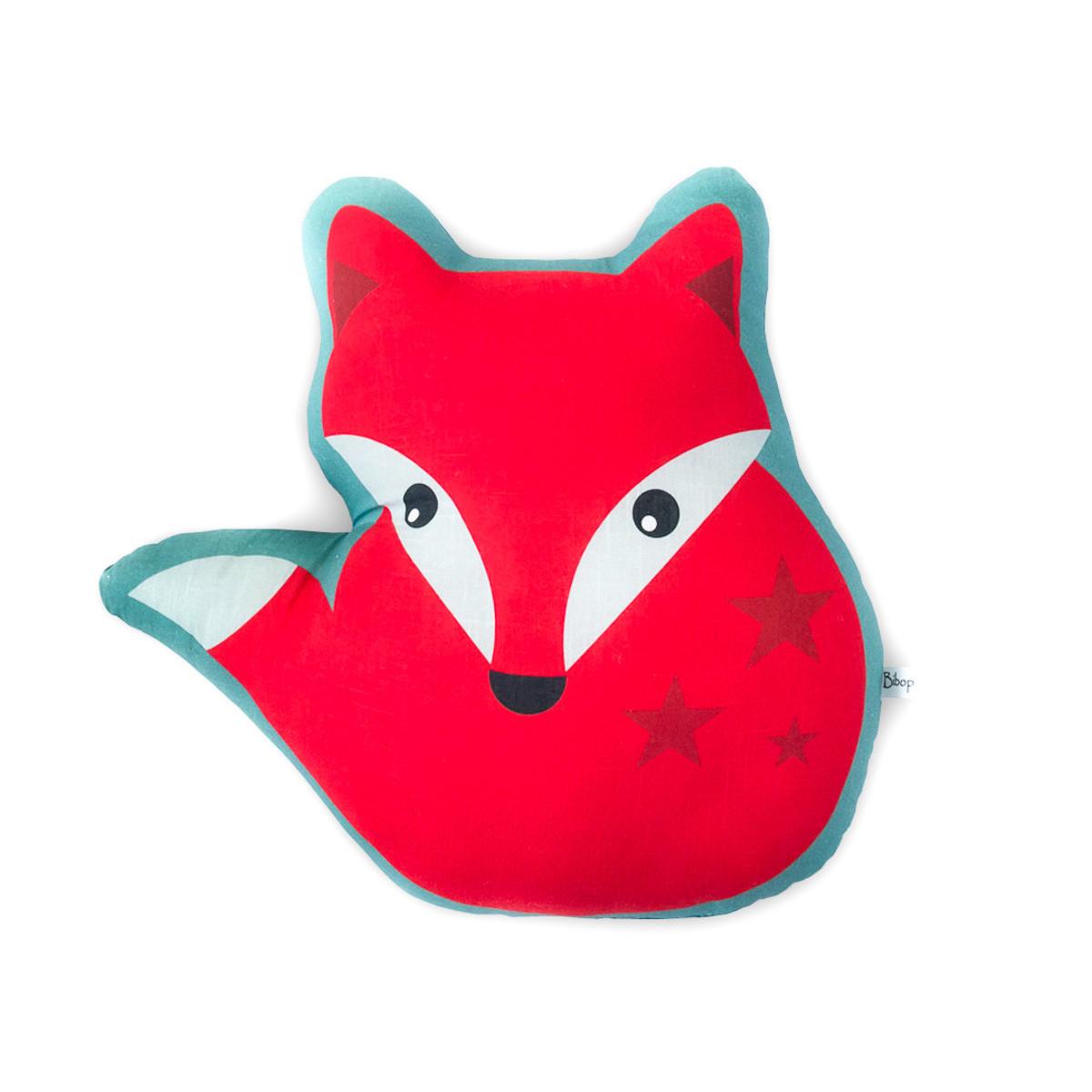 Coussin renard roux