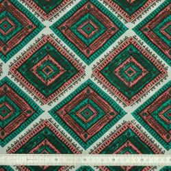 Tissu coton Azthèque