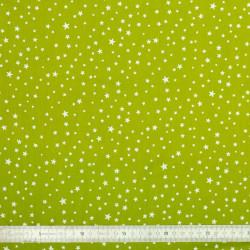 Tissu coton White Stars