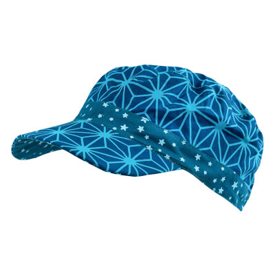 Casquette en coton et réversible pour enfant 1-8 ans bleu et étoiles