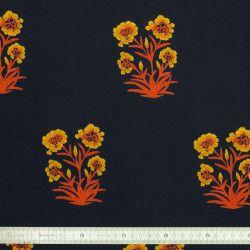 Tissu coton Bouquet