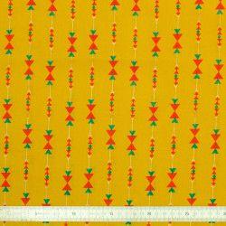 Tissu coton jaune Sioux