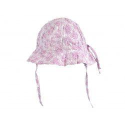 Chapeau de soleil bébé réglable Adèle