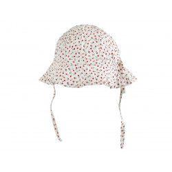 Chapeau de soleil bébé réglable Capucine