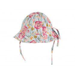 Chapeau de soleil bébé réglable Poppies