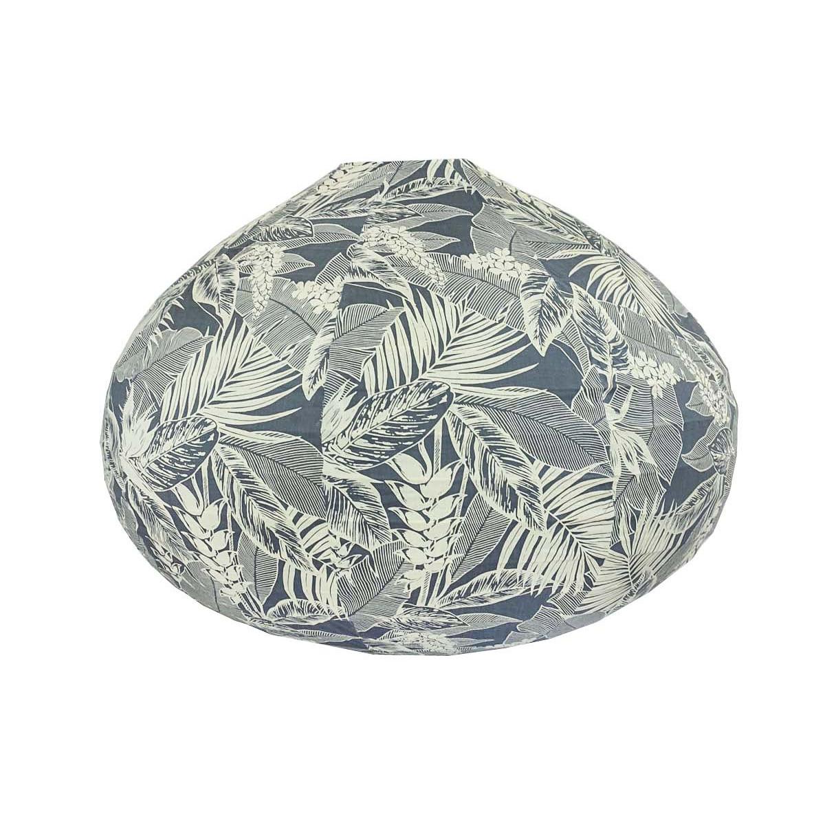 Lampion tissu boule japonaise goutte Bornéo