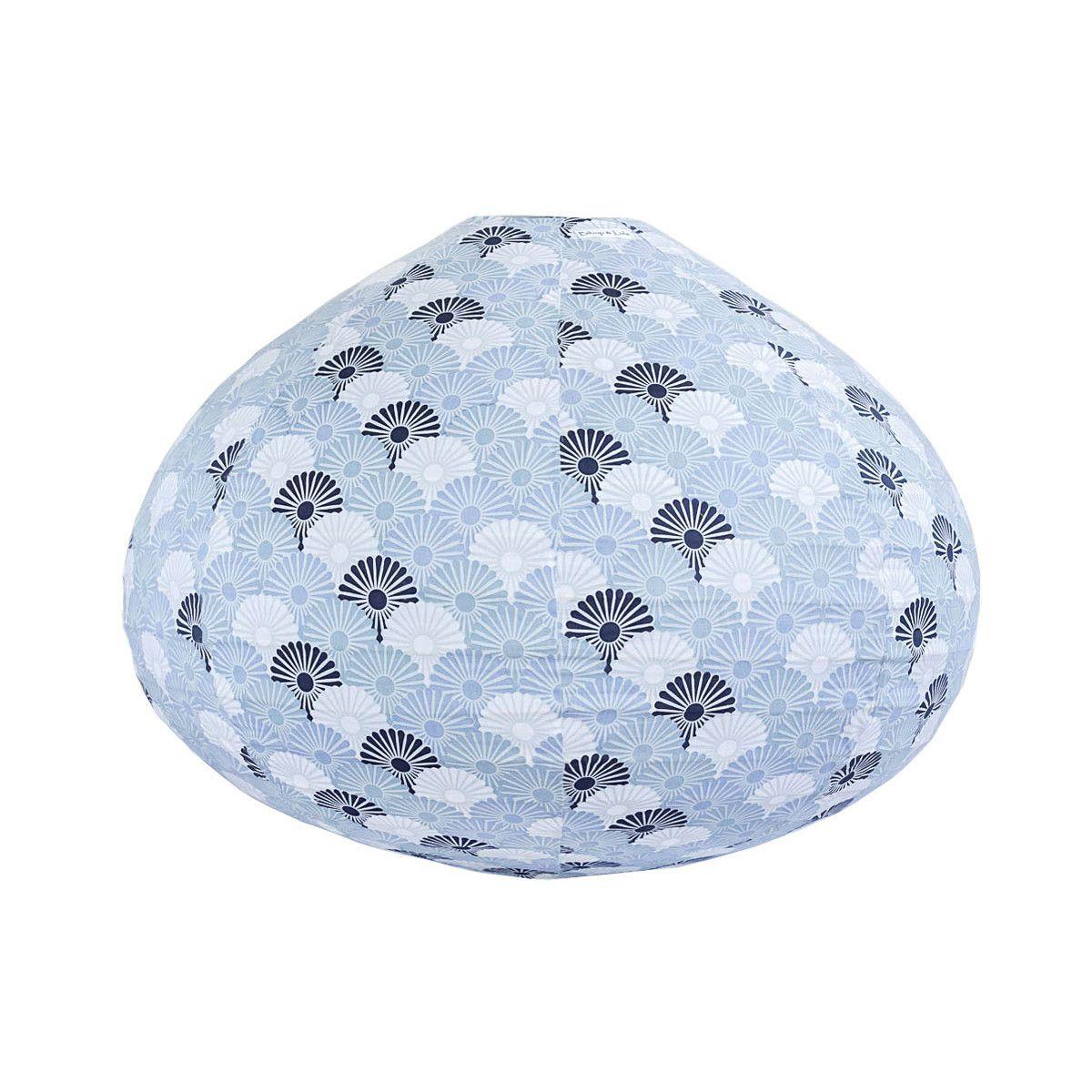Lampion tissu boule japonaise goutte Solas brume