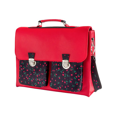 Cartable sacoche adulte Strawberry