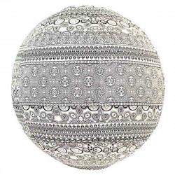 Lampion tissu boule japonaise rond Garis