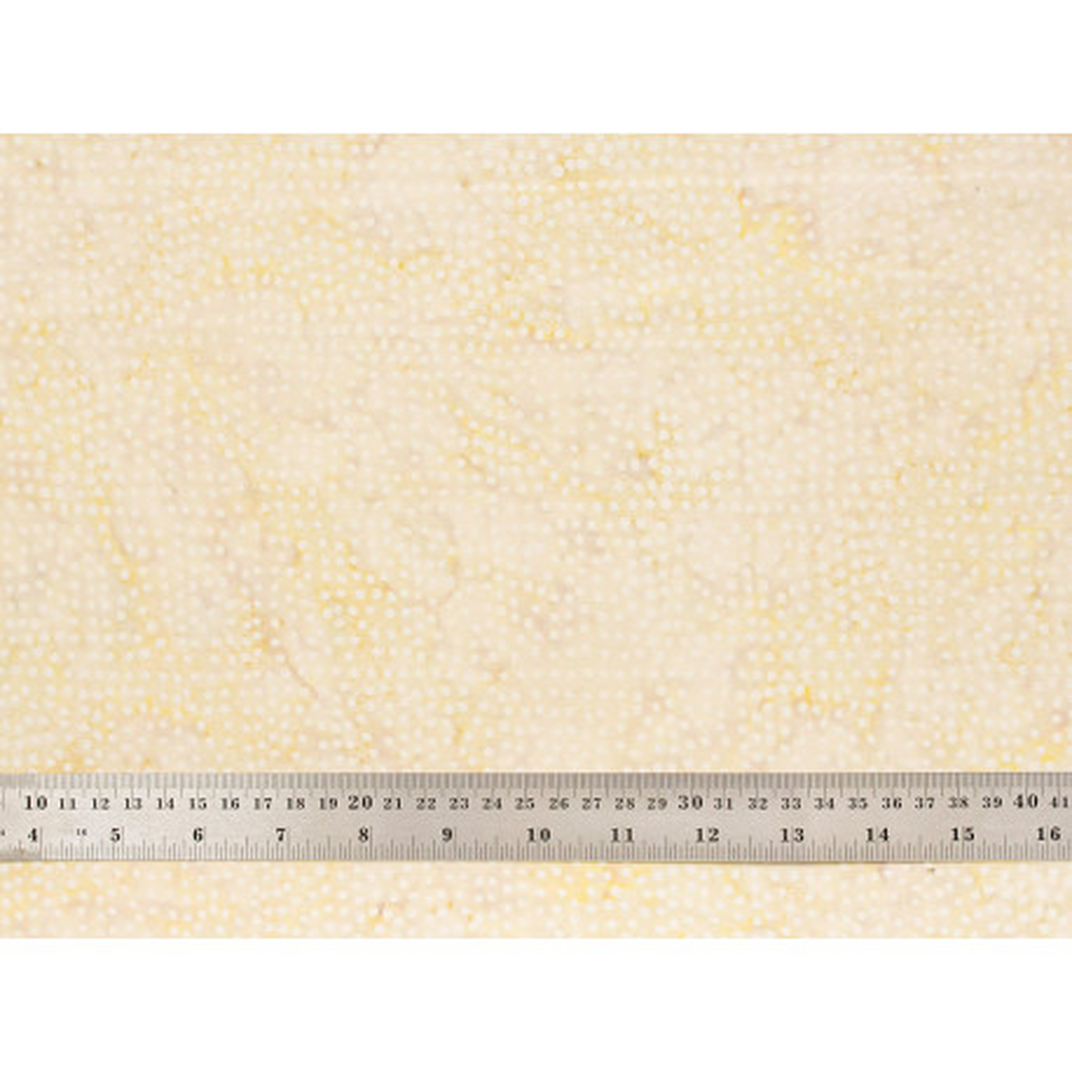 Tissu patchwork bulles crème
