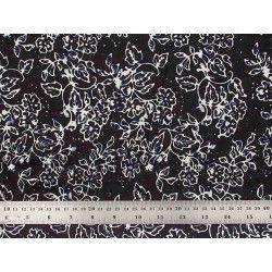 Coton Batik capucines