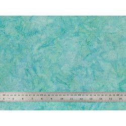 Coton Batik pois bleu