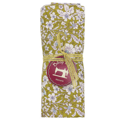 Coupon tissu Small Garden Olive