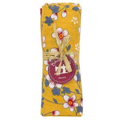 Coupon tissu fleurs Akiko